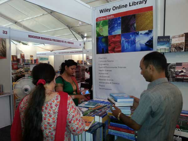 Wiley Stall at PU Book Fair